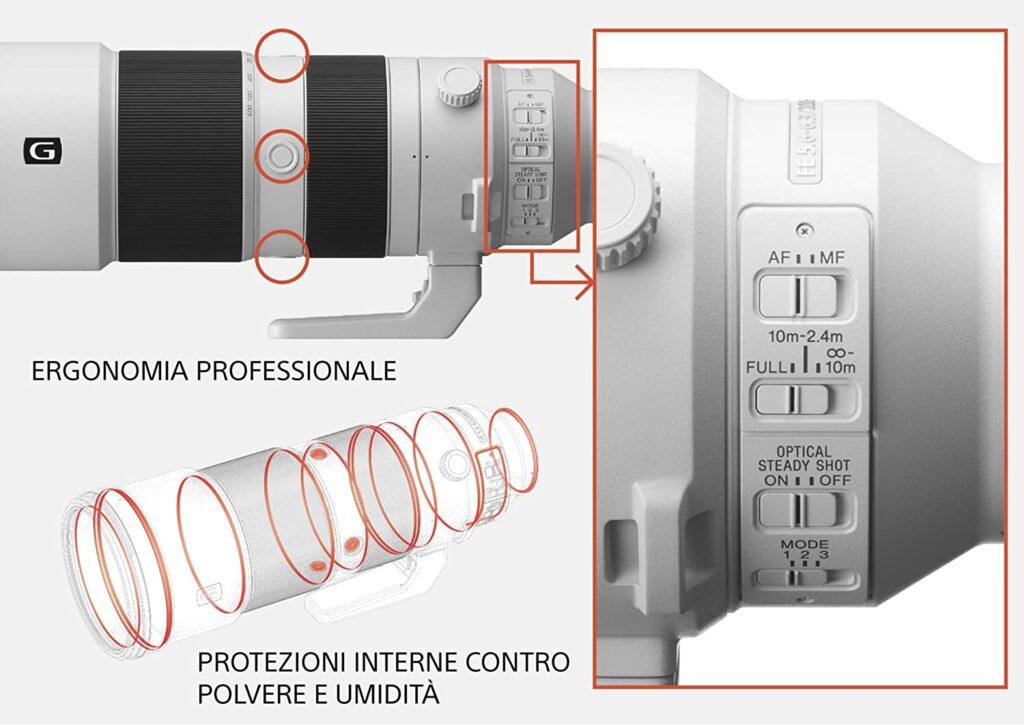 www.emanuelecarlisi.it - Top obiettivi Sony - G200-600mm SEL F/5.6-6.3