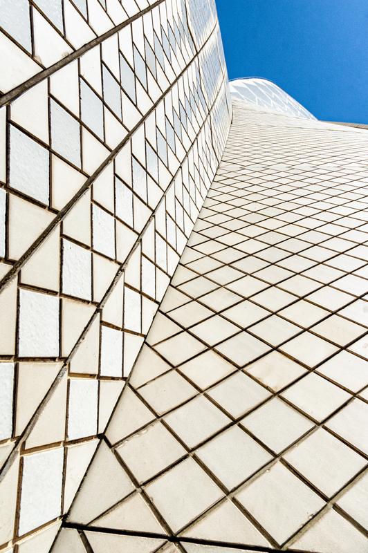 www.emanuelecarlisi.it - Sydney Opera House - particolare delle piastrelle